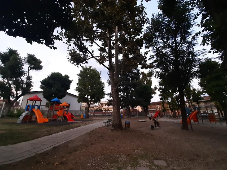 Avviati i lavori di riqualificazione del Parco Giochi della Villa Comunale di San Benedetto de' Marsi