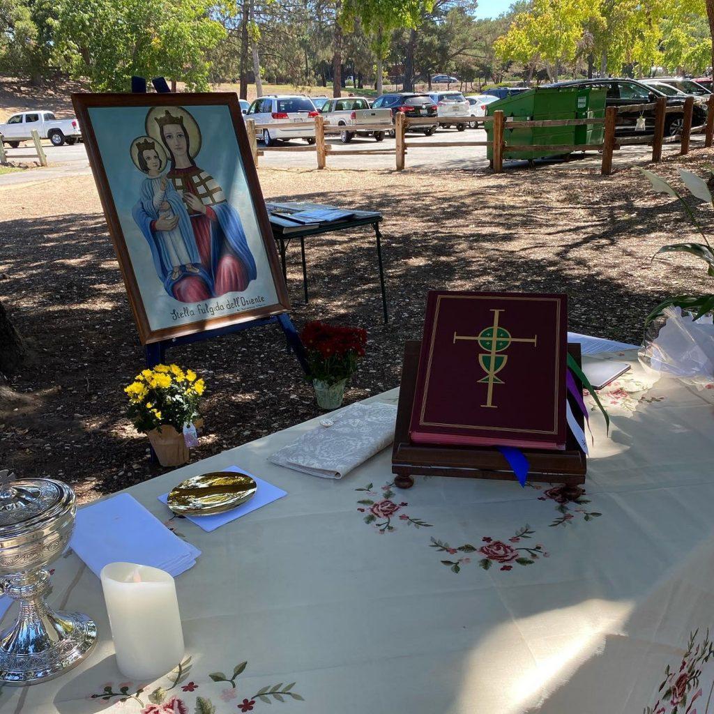 Festa della Madonna dell'Oriente in California