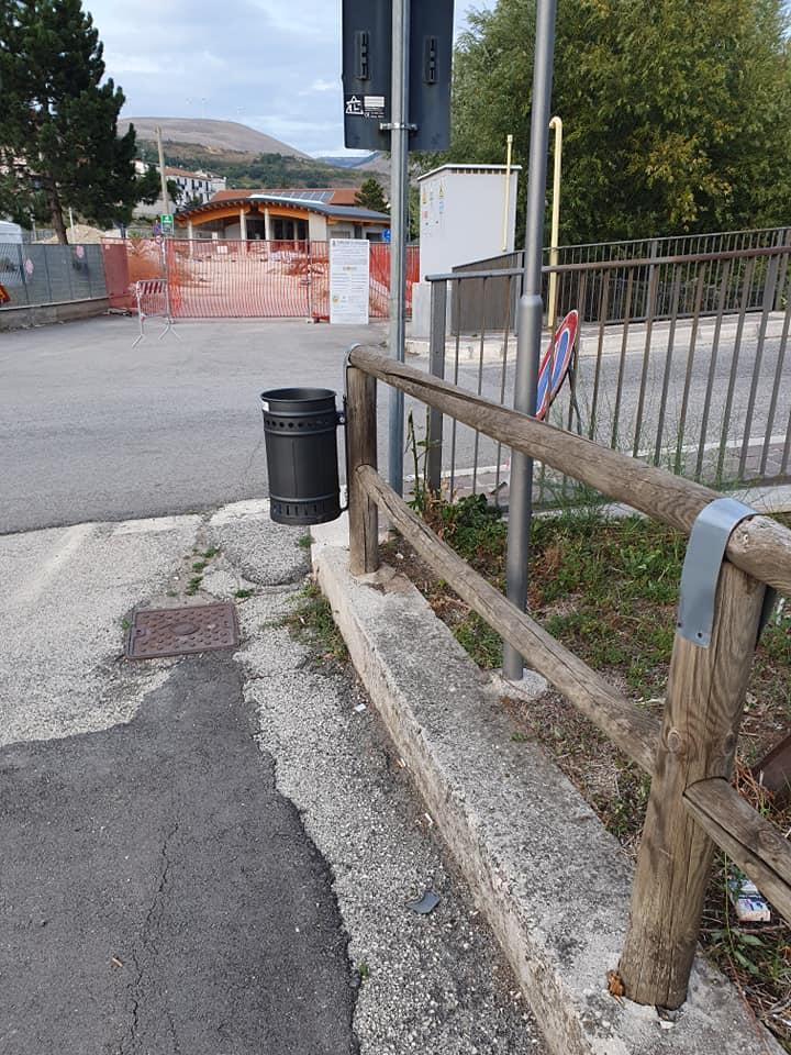 """Danneggiata la pista ciclabile di Pescina, Zauri: """"Sono scontertato"""""""