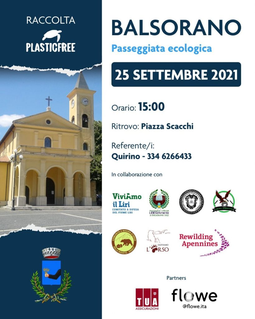 Passeggiata ecologica a Balsorano sabato 25 settembre