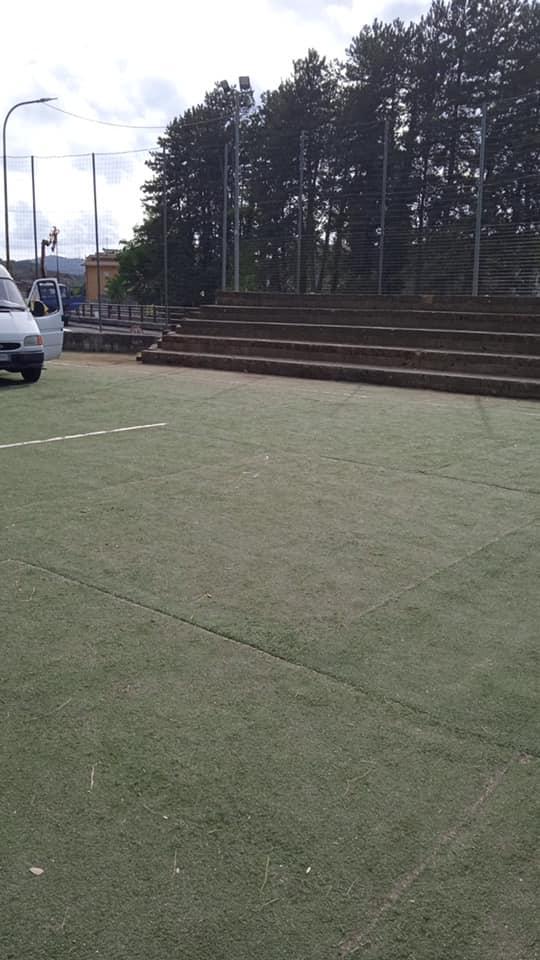 """Sporcizia nel campetto di Via Nuova a Carsoli, Nazzarro: """"Chi sporcherà dovrà ripulire prima di andare via"""""""