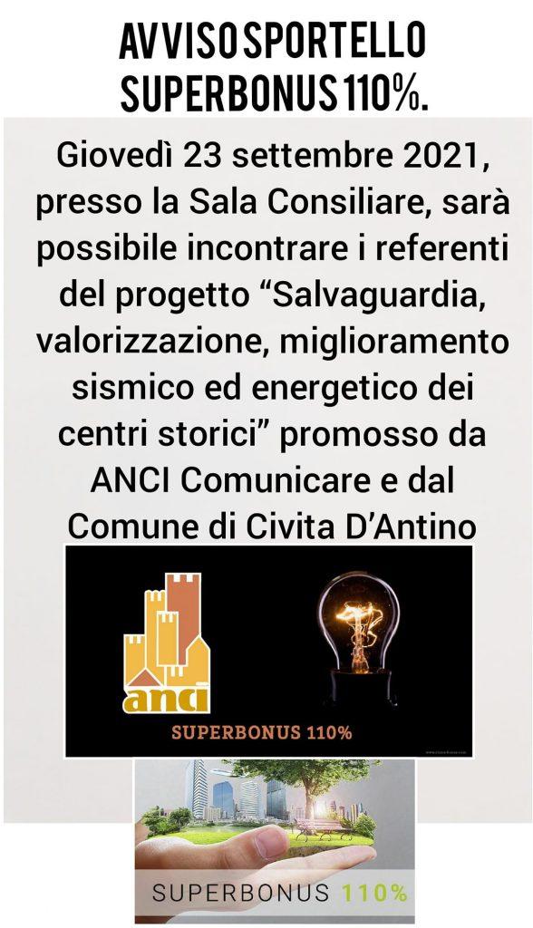 """""""Salvaguardia, valorizzazione, miglioramento sismico ed energetico dei centri storici"""", incontro a Civita D'Antino"""