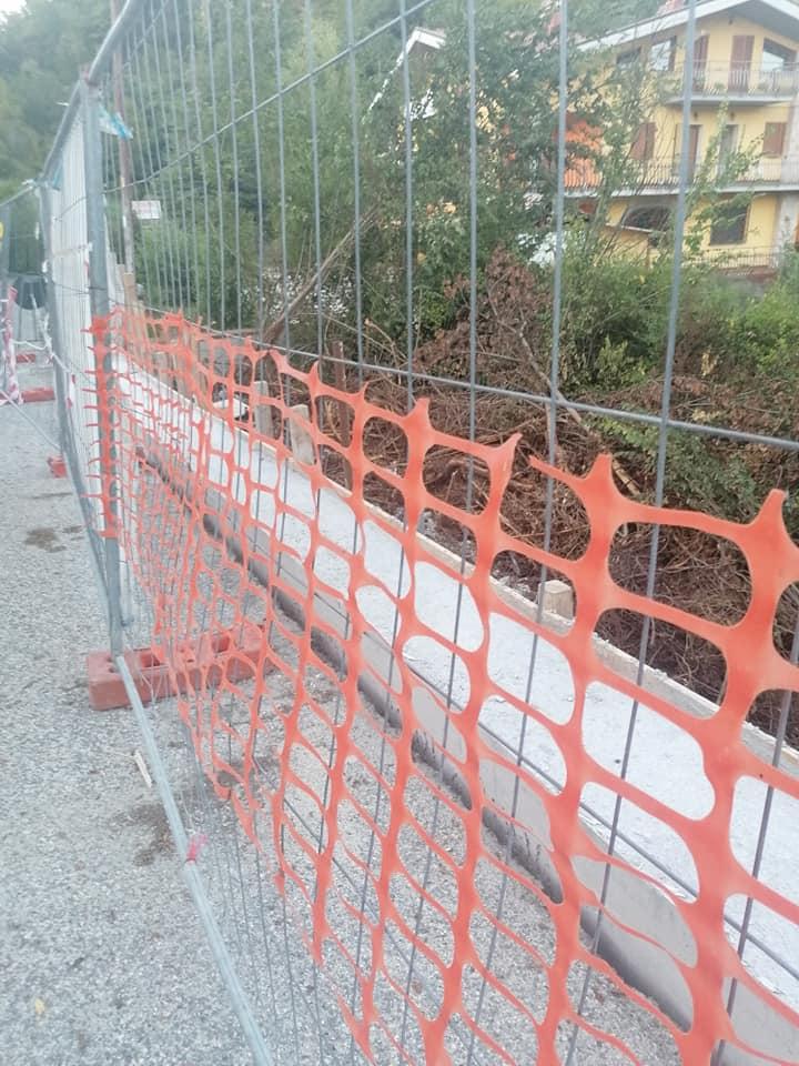 Iniziati i lavori di messa in sicurezza della strada provinciale a Tufo di Carsoli