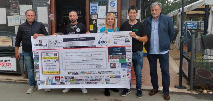 Trofeo Nazionale di Calcio Balilla del Caffè Panoramico, raccolti più di duemila euro per il Reparto Pediatrico dell'Ospedale di Avezzano