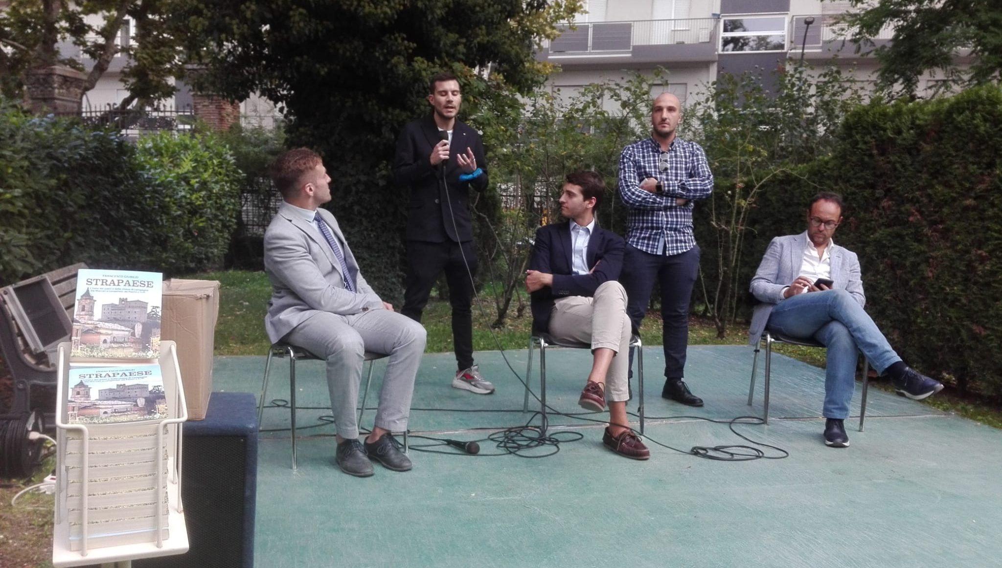 """Cultura e riscoperta dei luoghi della nostra memoria alla presentazione del volume """"Strapaese"""", dell'autore Francesco Giubilei"""