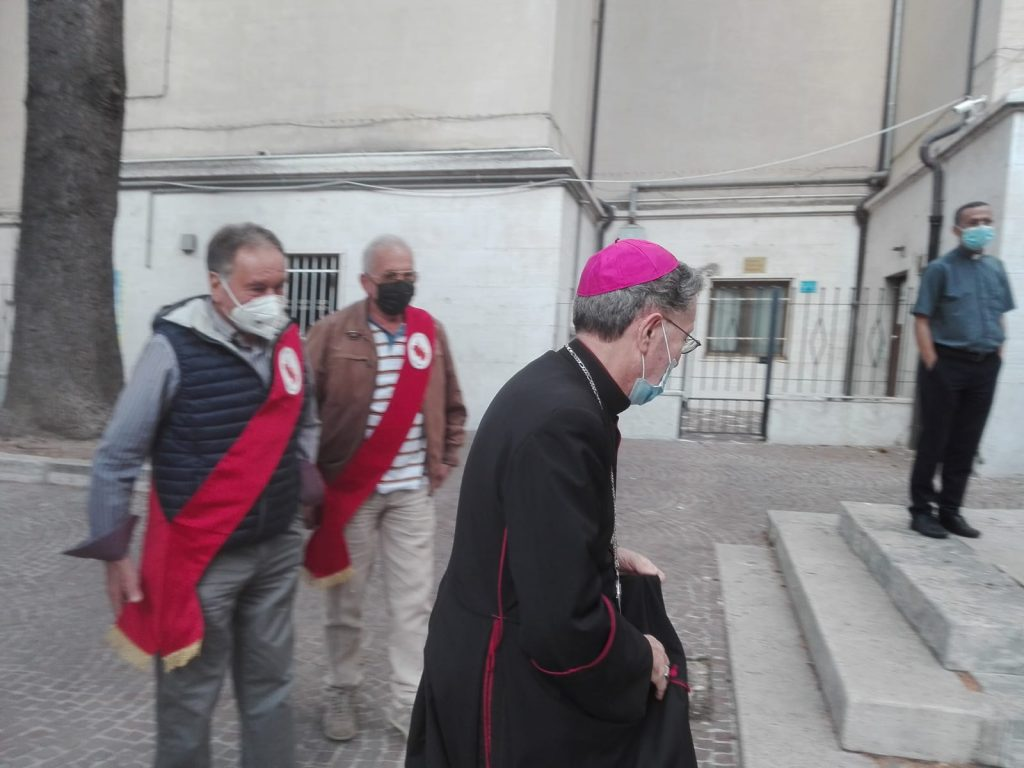 Il toccante saluto del vescovo Pietro Santoro alla Diocesi dei Marsi
