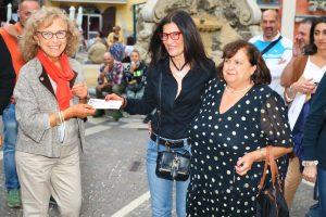 I cinquantenni di Tagliacozzo donano assegno all'Ail in ricordo dell'amico Sandro Mattioli, prematuramente scomparso