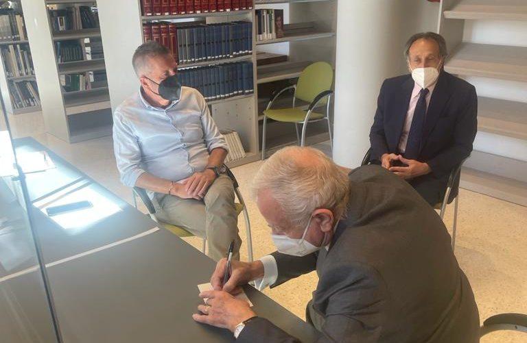 Tribunali, Gianni Letta sostiene la battaglia per la salvezza. Di Pangrazio e Colucci: confidiamo nell'impegno del nostro illustre conterraneo