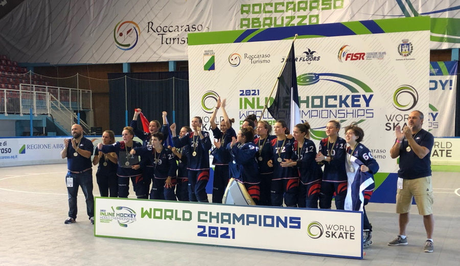 Mondiali Hockey Inline 2021: l'oro va alla Francia nel Torneo femminile