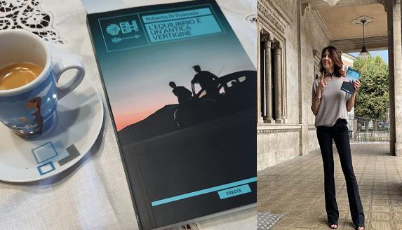 L'equilibrio è un'antica vertigine, è l'evocativo titolo dell'ultimo libro di Roberta Di Pascasio edito da Augh! Edizioni