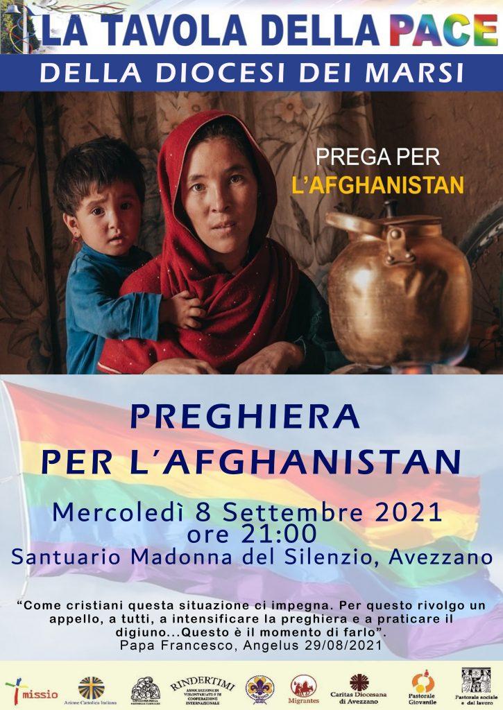 Domani incontro di preghiera per l'Afghanistan nel Santuario della Madonna del Silenzio di Avezzano