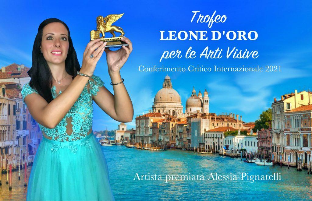 Premiata con il Leone d'oro la pittrice Alessia Pignatelli