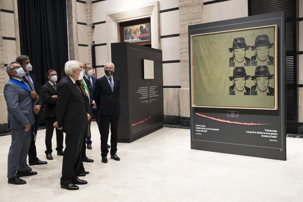 """Il Presidente Mattarella in Abruzzo: ha inaugurato il polo culturale """"Imago Museum"""" a Pescara"""