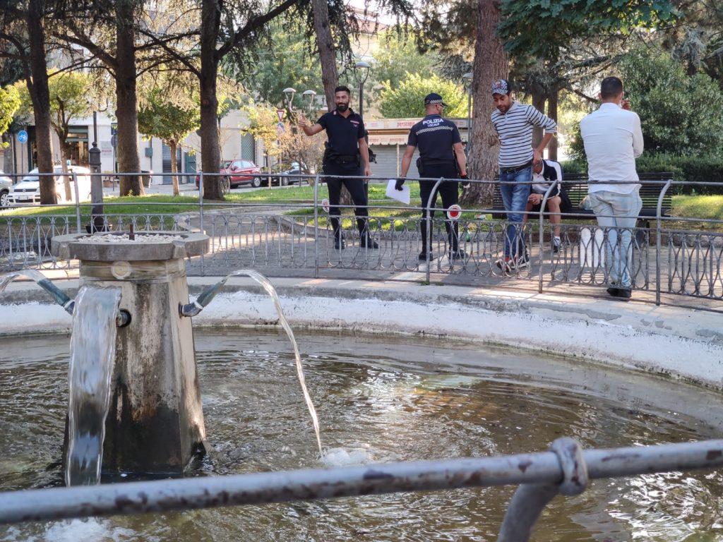 Polizia Locale Di Avezzano in azione per accertamenti e controlli nell'area della stazione ferroviaria