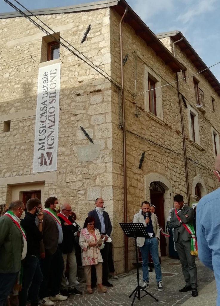 """Inaugurata la Casa Museo Ignazio Silone, Zauri: """"Grazie a tutti coloro che hanno partecipato alla realizzazione del progetto"""""""