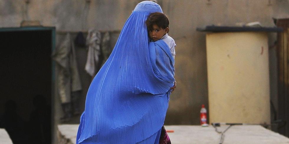 Preghiera per l'Afghanistan presso il Santuario della Madonna del Silenzio di Avezzano l'8 settembre