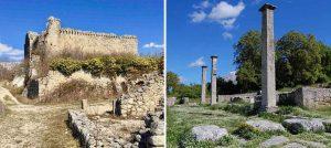 Connettere frammenti di storia: collegamento tra il borgo medioevale e l'area archeologica di Alba Fucens