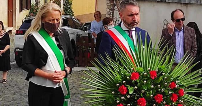 """Commemorazione delle vittime dell'alluvione a Villa San Sebastiano. Sindaco Giovagnorio: """"importante il rispetto della natura"""""""