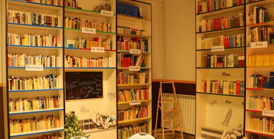 I volontari riaprono la biblioteca di Villa San Sebastiano