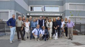 I diplomati del V B dell'anno 1981 del Liceo Scientifico di Avezzano si incontrano dopo quarant'anni