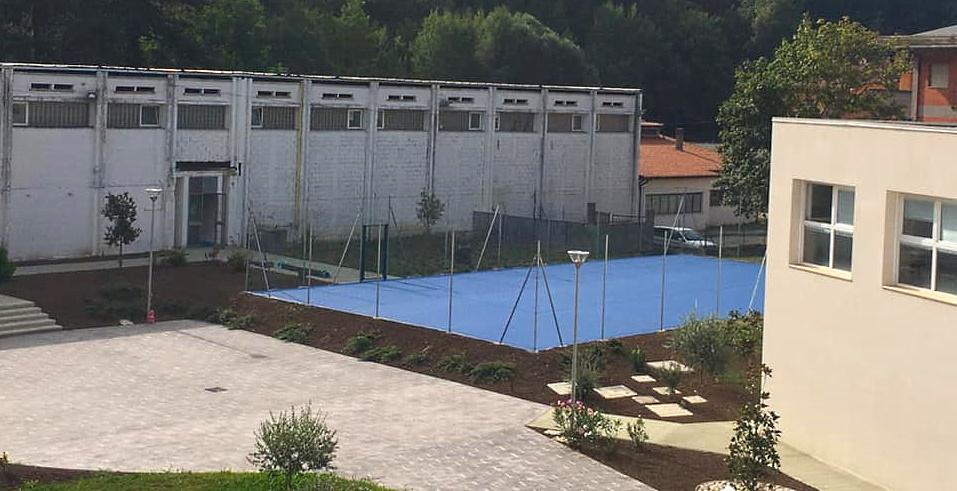 Quasi pronto il nuovo campetto polivalente a Carsoli