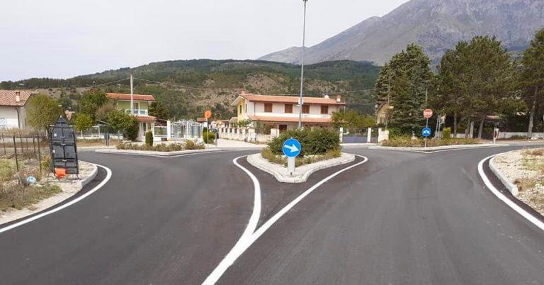 """Messa in sicurezza e rifacimento manto stradale circonvallazione di Magliano de' Marsi, Di Cristofano: """"Lavoro completato"""""""