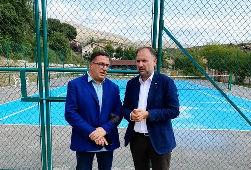 L'Assessore Regionale allo Sport Guido Liris in visita a Cerchio