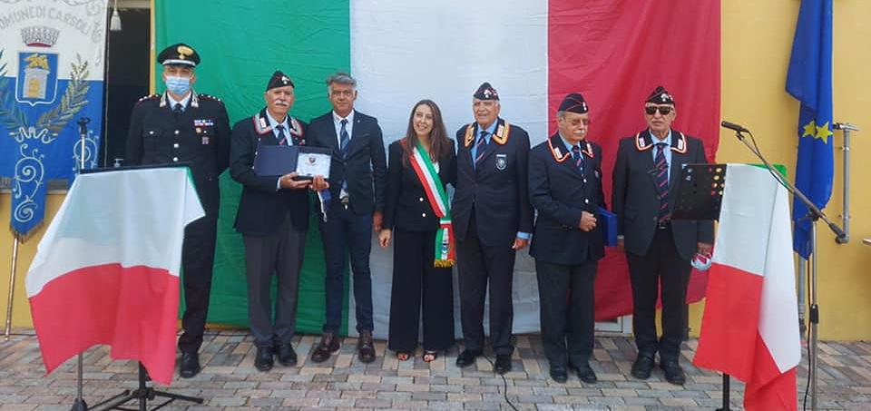 Inaugurata la nuova sede dell'Associazione Nazionale Carabinieri di Carsoli intitolata al Gen. Enrico Riziero Galvaligi