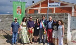Intitolazione strada comunale ad Arturo Blancodini, primo Sindaco eletto del Comune di San Benedetto dei Marsi