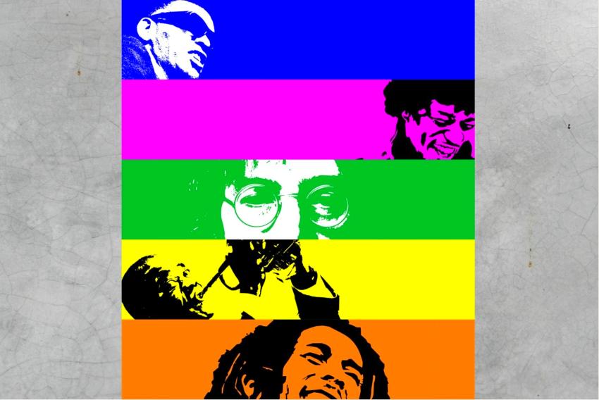 Rainbow: ad Avezzano l'installazione musicale di The Music Place