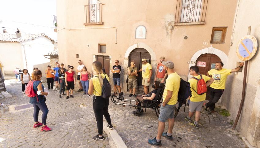 Turismo inclusivo ad Aielli, un tour guidato per le persone con disabilità