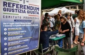 Referendum sulla Giustizia, Giustizia Giusta e Istituto Liberale oggi in Piazza Risorgimento per la raccolta delle firme