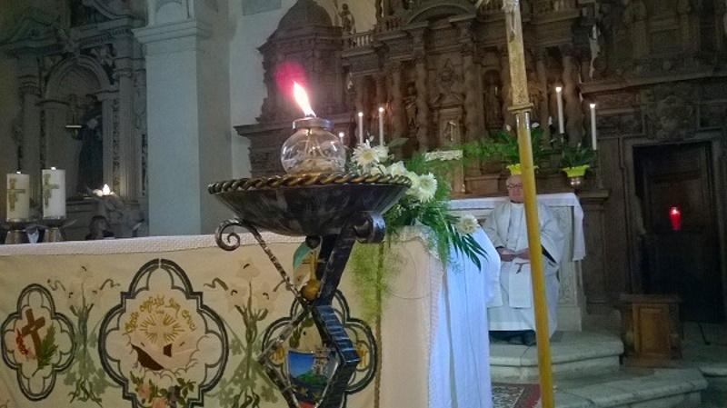 Accensione della Lampada Votiva in onore di San Francesco d'Assisi a Castelvecchio Subequo, quest'anno l'olio sarà offerto dal Comune di Carsoli