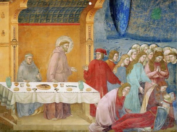 Francesco annuncia la morte del cavaliere di Celano