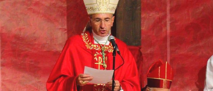 Cerimonia d'insediamento del nuovo Vescovo dei Marsi Giovanni Massaro domenica 3 ottobre ad Avezzano