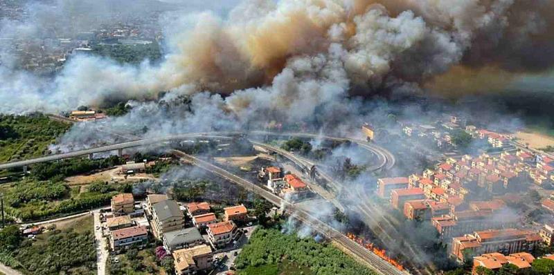 Incendi estivi in Abruzzo, sollecitato lo stato di emergenza