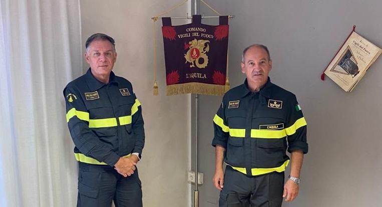 L'Ing. Romeo Panzone è il nuovo comandante dei Vigili del fuoco di L'Aquila