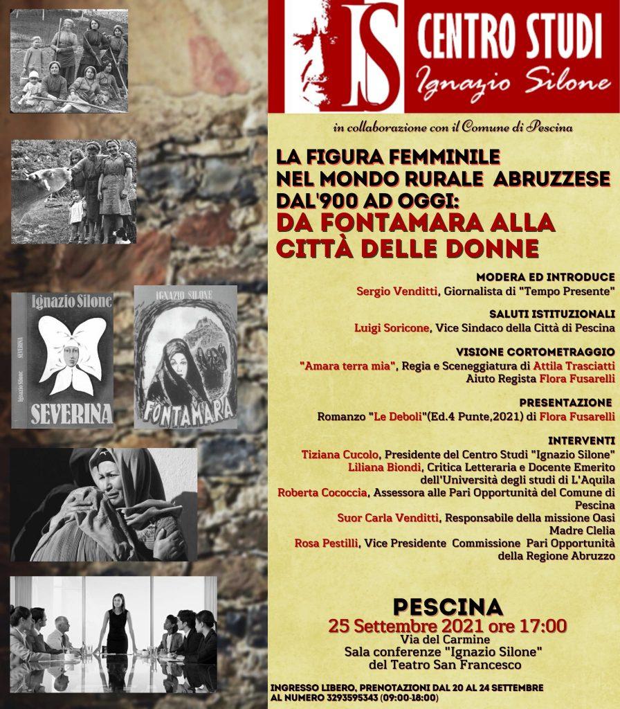 """""""Omaggio a Silone"""" una due giorni di eventi a Pescina, sua città natale"""
