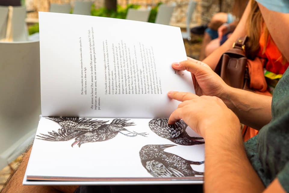 """Presentazione del libro """"La martavella. Raccolta illustrata di antiche fiabe abruzzesi"""" all'Aia dei Musei"""