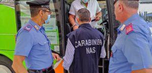 Carabinieri NAS: controlli dei Green Pass, accertate 236 violazioni
