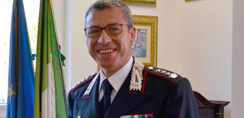 Il commiato del Col. Nazareno Santantonio che lascia il Comando Provinciale Carabinieri di L'Aquila