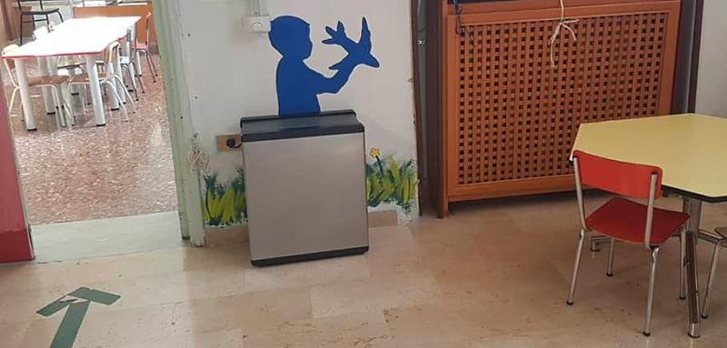 Installati sette nuovi sanificatori nelle scuole materna ed elementare di Cerchio