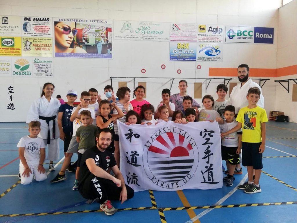 """Grande successo per il progetto """"Lo Sport siamo noi"""" a Tagliacozzo"""