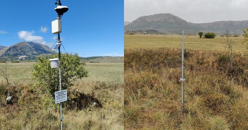 Rubata stazione meteo sull'Altopiano delle Rocche, organizzata una raccolta fondi per ricomprarla