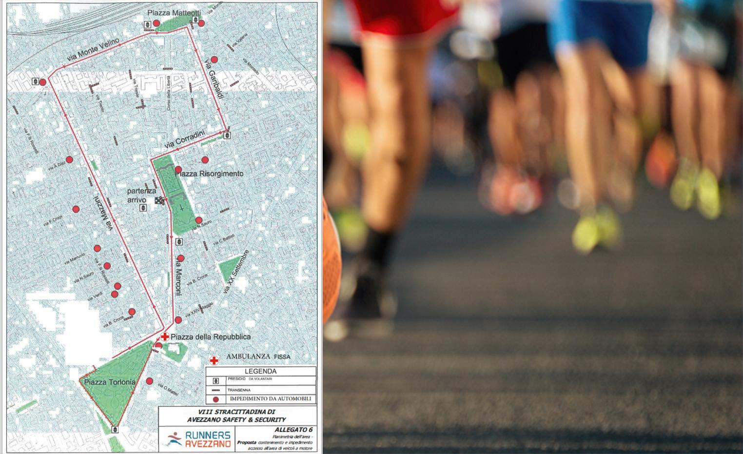 Sport e solidarietà, torna la Stracittadina di Avezzano. Centinaia di atleti in gara il 19 settembre: evento organizzato dai Runners