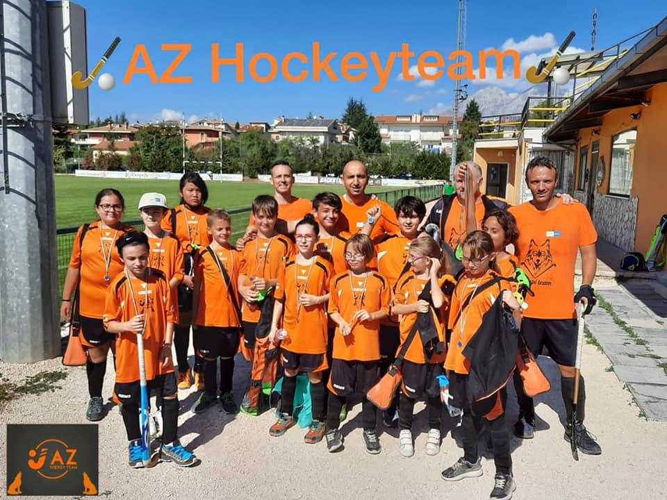 Grande partecipazione al VI Memorial Enrico Marini di hockey su prato ad Avezzano