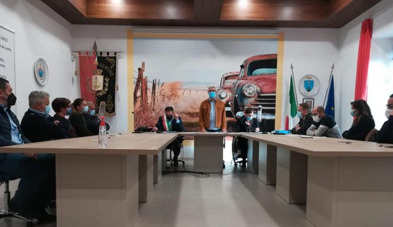 Cerchio, primo consiglio comunale della nuova amministrazione Tedeschi