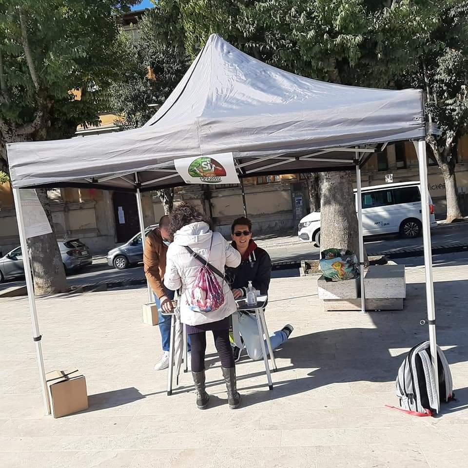"""""""Aboliamo la caccia"""", ad Avezzano parte la raccolta firme in piazza Risorgimento"""