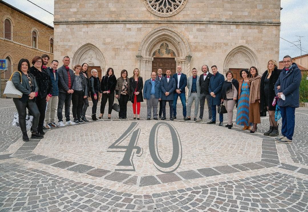 Magliano de' Marsi, rimpatriata dei ragazzi del 1981 per festeggiare insieme i 40anni