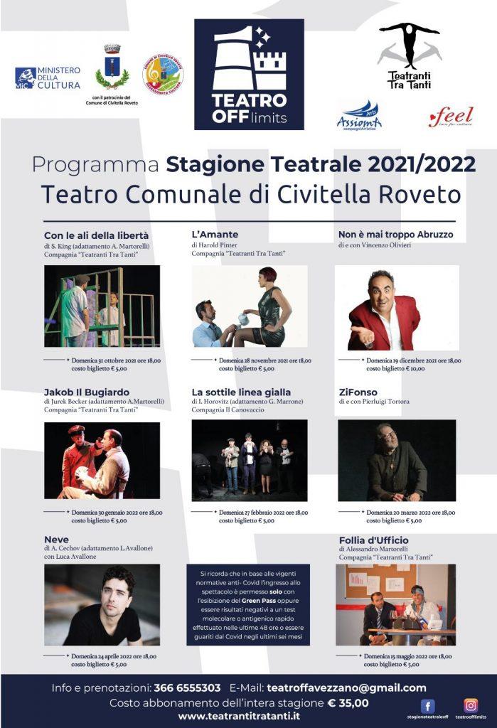 Presentazione stagione del Teatro OFF al Teatro Comunale di Civitella Roveto
